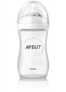 [4] AVENT NATURAL BOTTLES  260ML