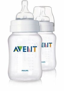 [4] AVENT CLASSIC+ BOTTLES 260ML TWIN PACK