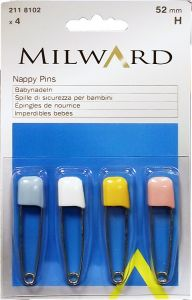 [10] MILWARD NAPPY PINS