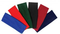 [6] FINESSE HEAD BAND ASSORTED COLOURS
