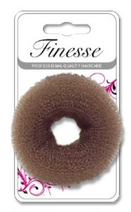 [3] FINESSE BUN RING - BROWN