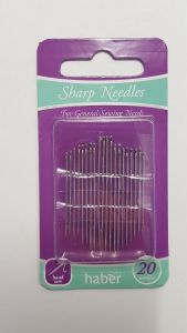 [6] HABER SHARP NEEDLES