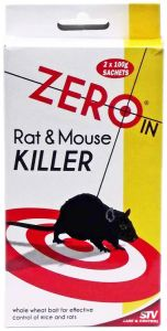 [6] STV PEST CONTROL - RAT & MOUSE KILLER 2 X 100G(D)