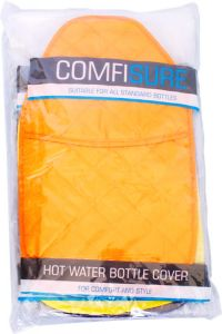 [6] FINESSE HOT WATER BOTTLE COVER - POLYCOTTON