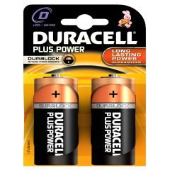 [10] DURACELL BATTERIES D  - 2PK