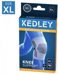 KEDLEY ELASTICATED KNEE SUPPORT- X LARGE