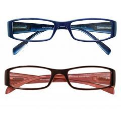 READYSPEX READING GLASSES-2.50 LADIES PLASTIC 3 COLOURS