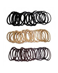 [12] 10PCS THICK & 10PC THIN HAIR BOBBLES(D) (D)