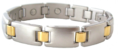 PURE MAGNETIC LINK BRACELET LARGE (D)