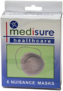 **ETA APRIL** [6] MEDISURE NUISANCE MASKS 6 PACK