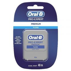 **DISCONTINUED** ORAL-B PRO EXPERT PREM FLOSS COOL MINT 40M