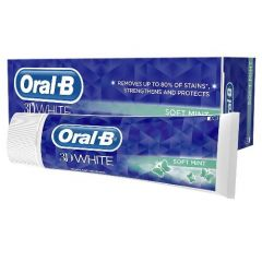 [12] ORAL-B T/PASTE 3D WHITE SOFT MINT 75ML (D)