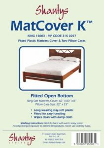 SHANTYS MATTRESS COVER - KING SIZE BED
