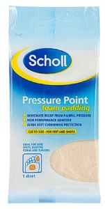 [12] SCHOLL PRESSURE POINT FOAM PADDING