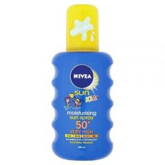[6] NIVEA SUN CHILDS SPRAY F50 200ML(D)