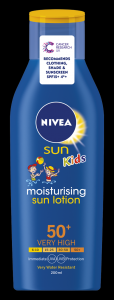 [6] NIVEA SUN CHILDS LOTION F50 200ML(D)