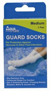 AQUA SAFE GUARD SOCK MEDIUM
