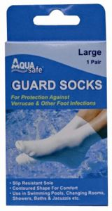 AQUA SAFE GUARD SOCK LARGE
