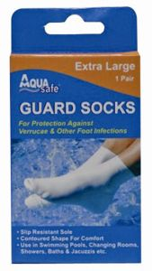 AQUA SAFE GUARD SOCK EXTRA LARGE