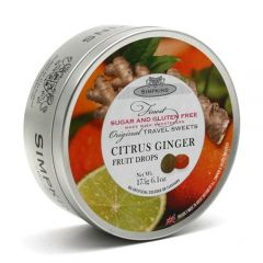 [6] SIMPKINS SUGAR FREE- CITRUS GINGER FRUIT DROPS