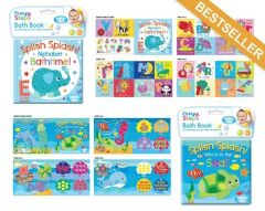 [6] FIRST STEPS SOFT  BABY BATH BOOK 2 ASSORTED