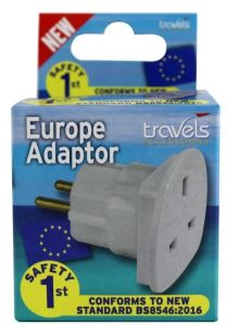 [12] TRAVELS EUROPE ADAPTOR