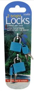[12] TRAVELS PADLOCKS 2 PK