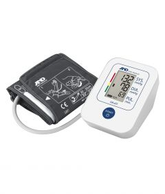 A & D UPPER ARM BLOOD PRESSURE MONITOR