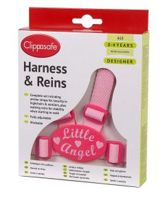 CLIPPASAFE HARNESS/REINS DESIGNER - LITTLE ANGEL (D)