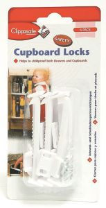 [5] CLIPPASAFE CUPBOARD LOCKS