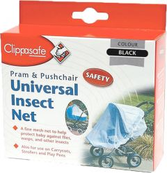 CLIPPASAFE INSECT SAFETY NET - WHITE (D)