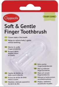 [10] CLIPPASAFE KIDS FINGER TOOTHBRUSH