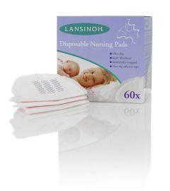 LANSINOH DISP NURSING PADS 60