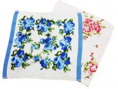 Face Flannel - Floral Print