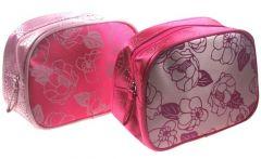 Small Satin Cosmetic Bag