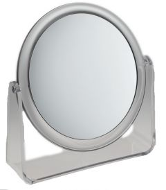 [3] FAMEGO MIRROR 5X MAGNIFYING - LARGE STAND -  CLEAR