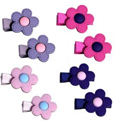 [12] PAIR OF FLOWERS  ON BEAKS  ASSORTED (D) *EXTRA 20% OFF*