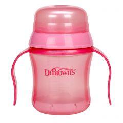 DR. BROWN'S SOFT SPOUT CUP - PINK(D)