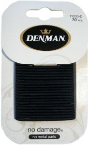 DENMAN 30PK 2MM S ND ELASTICS - BLK