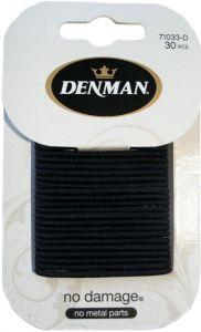 Denman 30pk 2mm S ND Elastics - Blk