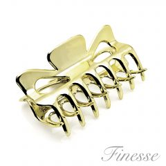 FINESSE CLAW CLIP GOLD