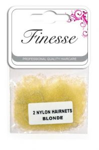 FINESSE HAIRNETS - BLONDE 2PK