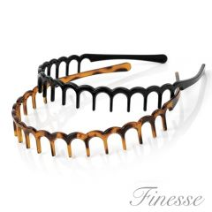 FINESSE ALICEBAND / TEETH-BLK /SHELL