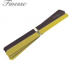 *NDL* FINESSE EMERY BOARDS 6PK L 18cm