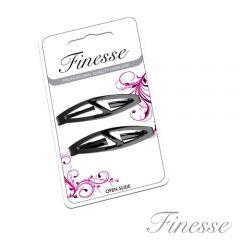 Finesse Black Hairslides