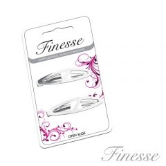 **ETA JULY** [6] FINESSE SILVER HAIRSLIDES