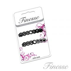 **ETA JULY** [6] FINESSE BLACK HAIRSLIDES
