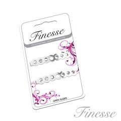 **ETA AUG** [6] FINESSE SILVER HAIRSLIDES