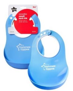 [6] TOMMEE TIPPEE COMFI NECK BIB 6 MONTHS+