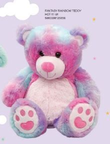 AROMA HOME SNUGGLE HOTTIES RAINBOW TEDDY (D)